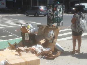 Alertan sobre más ratas por basura desbordada en Nueva York; alcalde reconoce que será peor por falta de fondos