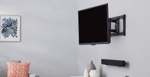 Las mejores opciones de montajes de pared para colgar tu TV