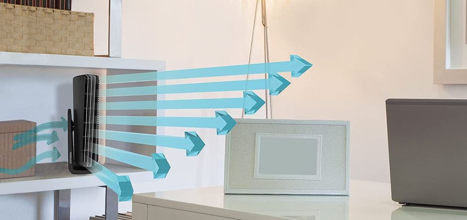 Ofertas: 5 ventiladores verticales para refrescar tu hogar por menos de $50
