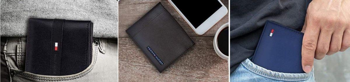 10 opciones de billeteras para hombres marca Tommy Hilfiger