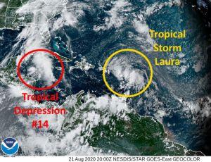 El Caribe está en alerta ante las dos tormentas que se acercan