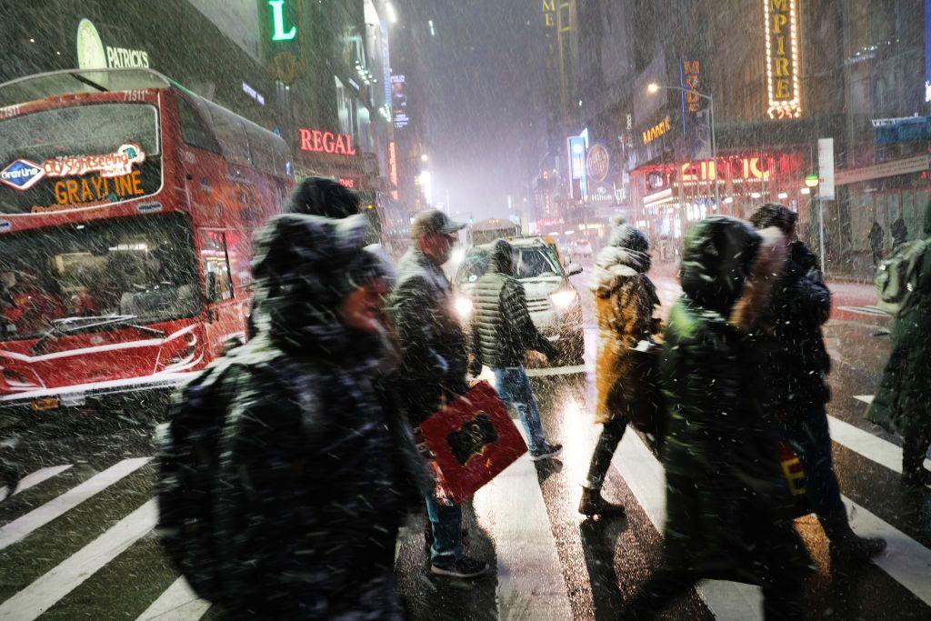 Se espera mucho frío y nieve, sobretodo en el este.