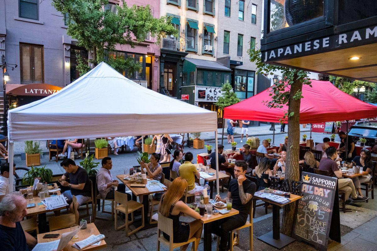 El campo restaurantero tiene luz verde para atender a sus clientes sin capacidad limitada.