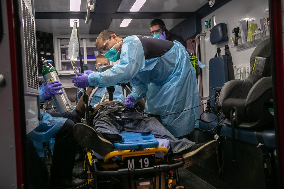 EE.UU. es el país más impactado por la pandemia de coronavirus.