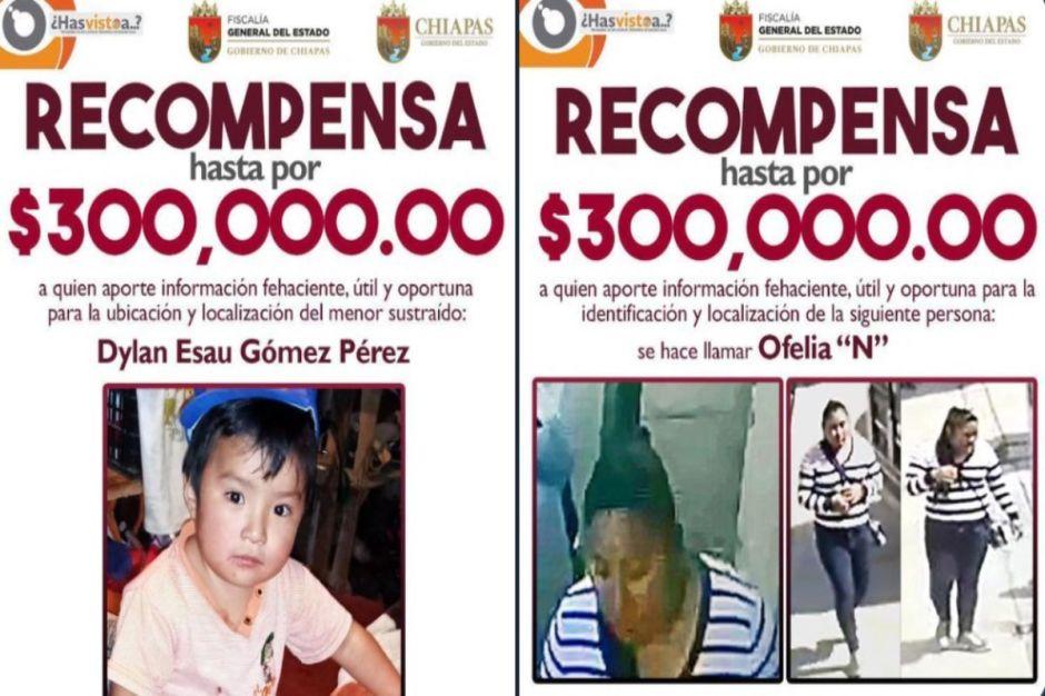 Hallan a menores que raptaron Dylan en Chiapas, mujer les ofreció $10 dólares