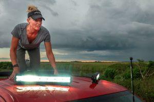 La cazadora de pitones en Florida que ama a las serpientes