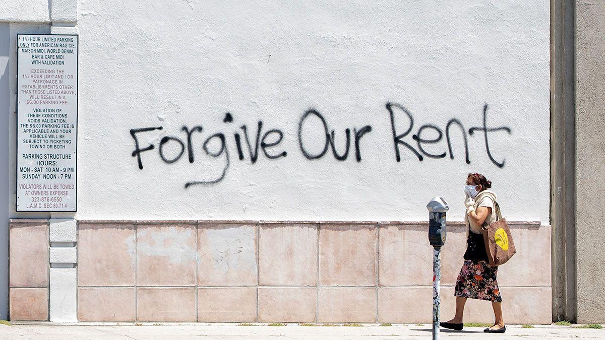 Muchas familias temen ser desalojadas por no poder pagar renta.