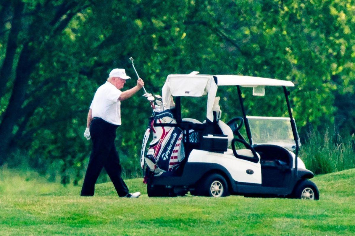 La inmigrante trabajó en el club de golf de Trump en Nueva Jersey.