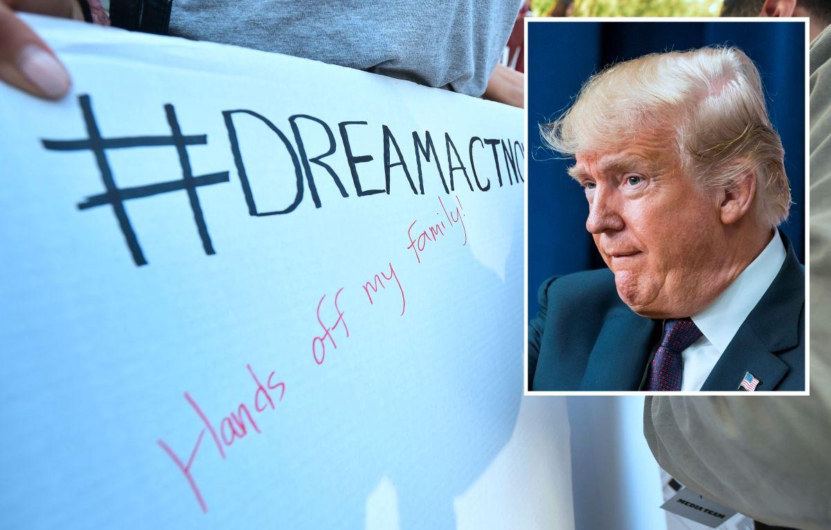 El presidente Trump avanza en sus restricciones a 'dreamers'.