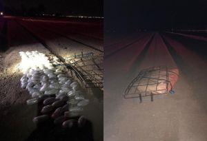 Avión ultraligero traspasaría frontera sur de EE.UU. con cargamento de drogas hallado en California