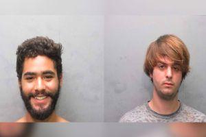 Arrestados dos jóvenes latinos por robar una obra arte del lobby de un condominio del sur de Florida