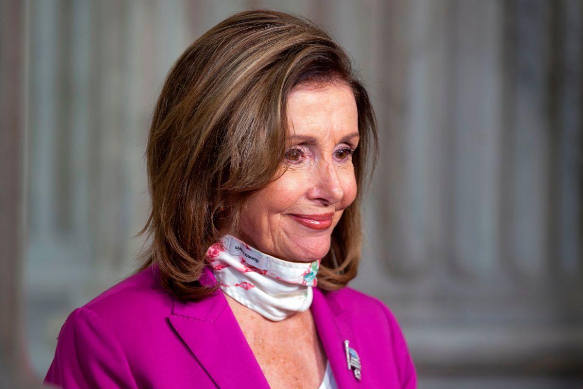 La presidenta de la Cámara, Nancy Pelosi, afirma que insistirán en las negociaciones.
