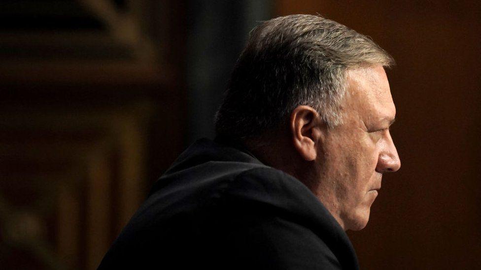 El secretario de Estado Mike Pompeo ha estado a la cabeza de la retórica agresiva contra China.