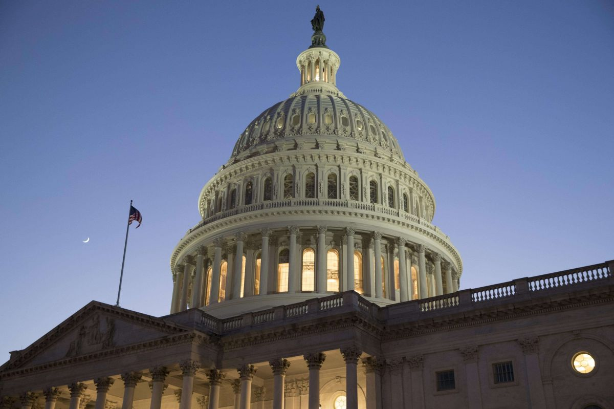 El Capitolio, sede del Congreso federal en Washington DC.