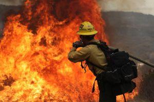 Video: Bobcat Fire se propaga rápidamente por el Bosque Nacional de Los Ángeles