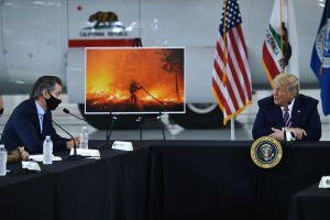 """Trump vuelve a negar el cambio climático: """"Se pondrá frío, ya verán"""""""