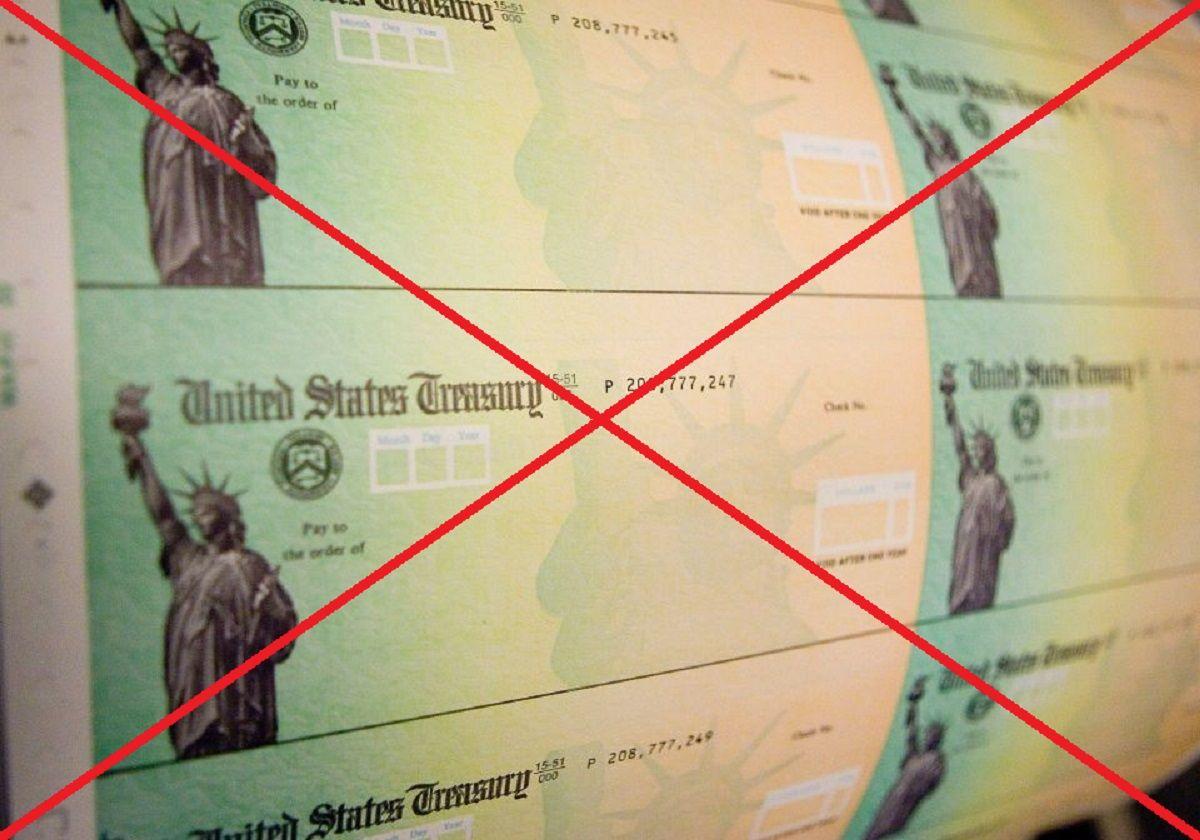 Se aleja posibilidad de aprobarse pronto un nuevo cheque de estímulo.