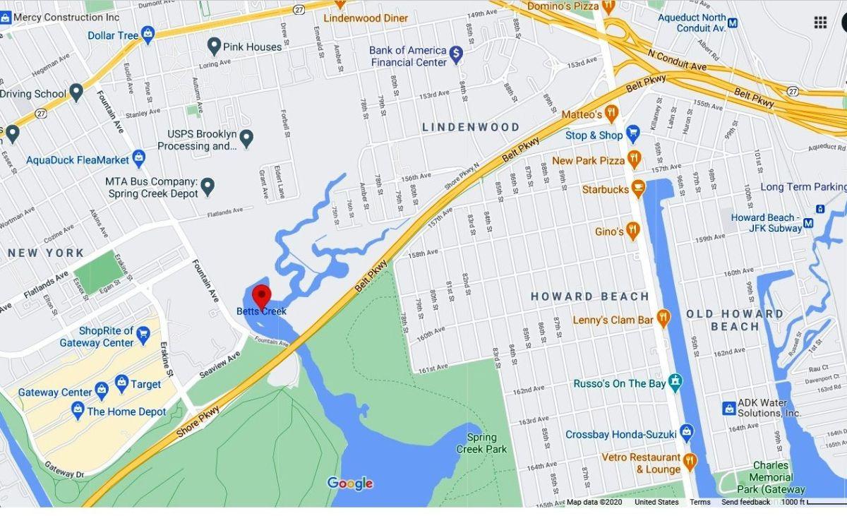 Hallan cadáver descompuesto de mujer en arroyo de Nueva York