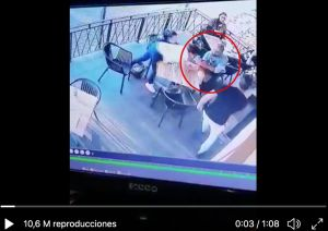VIDEO: Adicto se abalanza contra niña de cuatro años y la toma del cuello