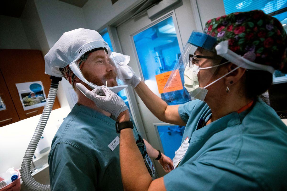 La pandemia ha puesto de relieve la importancia de los trabajadores sanitarios.