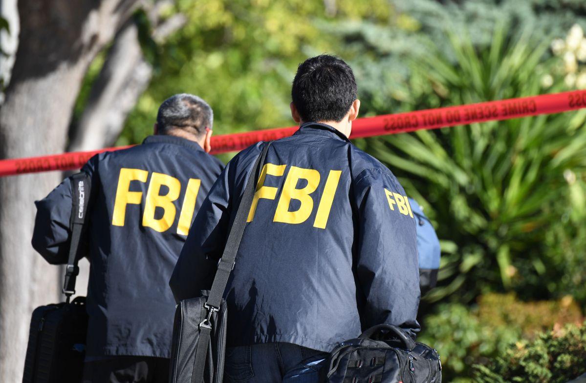 Agentes del FBI en una foto de archivo.