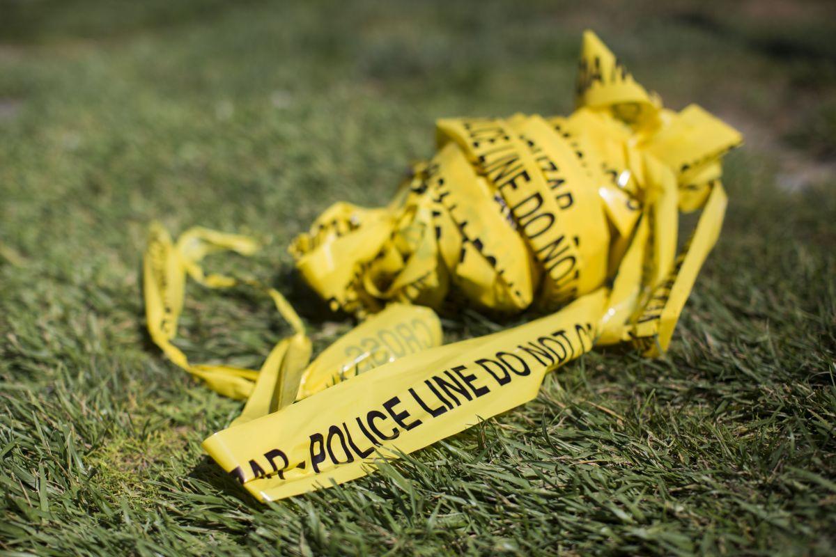 Cinta policial en escena de crimen. Imagen ilustrativa.