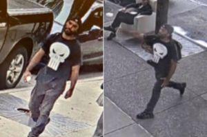 """NYPD atrapa a """"El Castigador"""" por lanzar rocas obscenas a edificio de cadena ABC en Manhattan"""