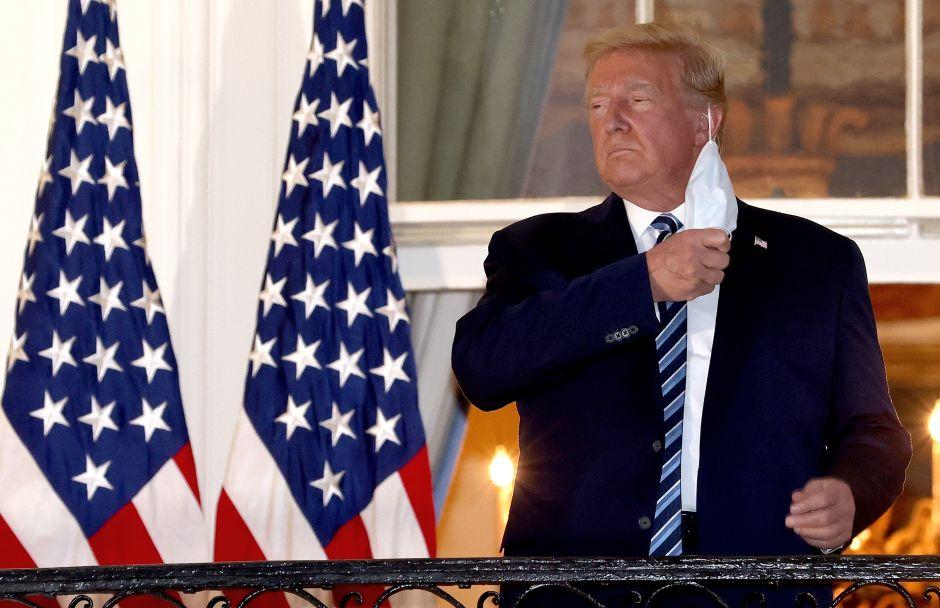 Donald Trump, infectado de coronavirus