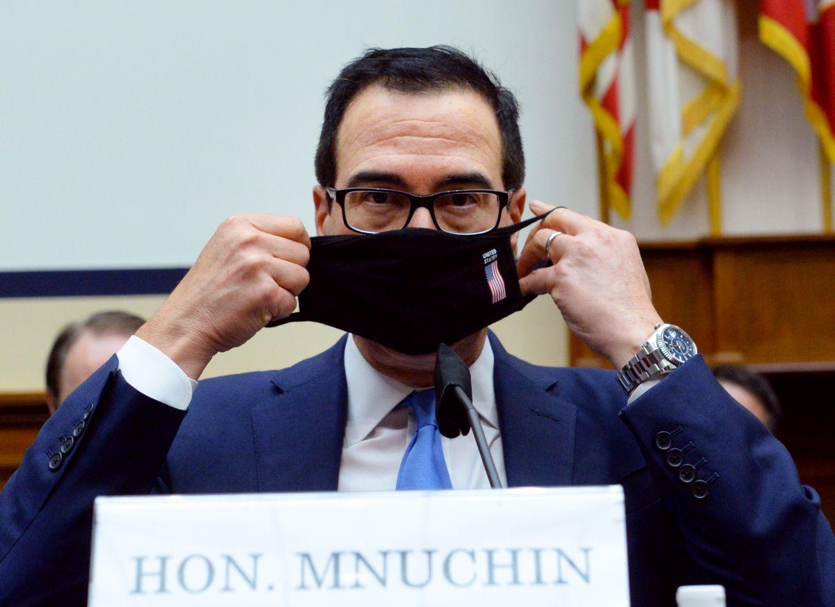 El secretario del Departamento del Tesoro, Steven Mnuchin, es el portavoz de Trump en las negociaciones por un nuevo plan de estímulo.