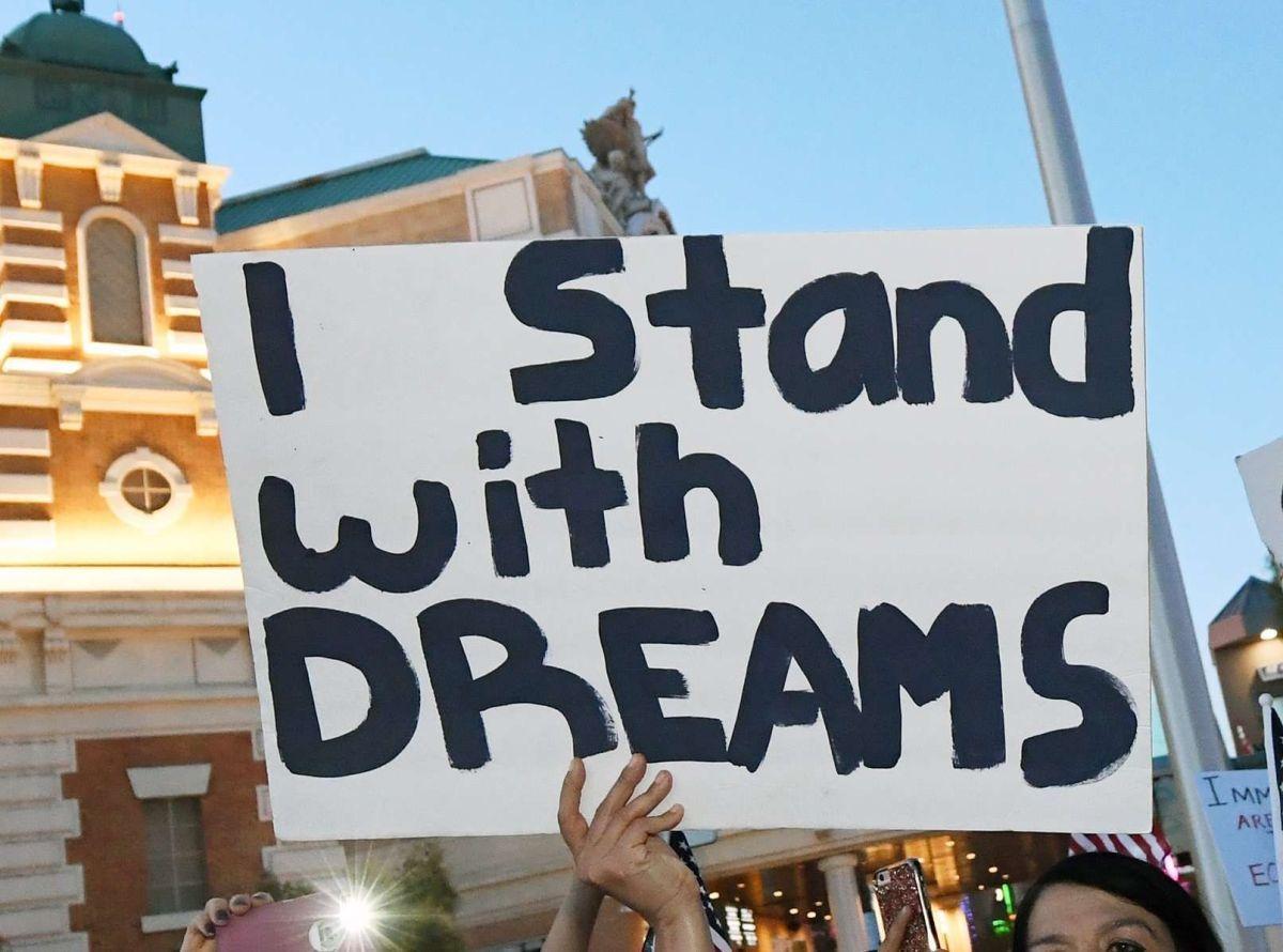 """Cientos de miles de """"soñadores"""" pueden seguir adelante."""
