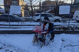 Sindicato de Maestros de Chicago presiona para no volver a clases presenciales