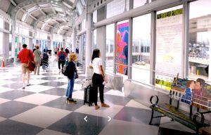 Hombre vivió en el aeropuerto O'Hare de Chicago durante tres meses por miedo al coronavirus