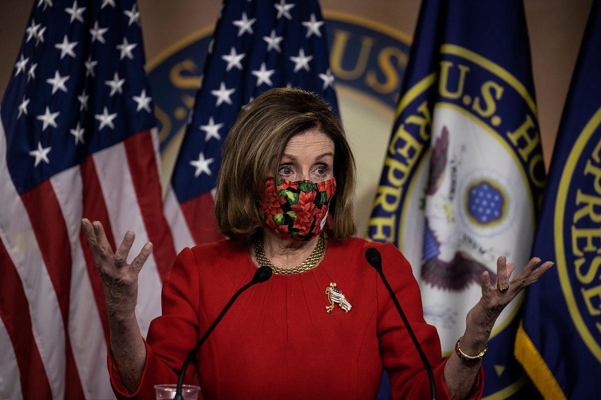 Nancy Pelosi informó que una comisión similar a la del 11S investigará el asalto al Capitolio