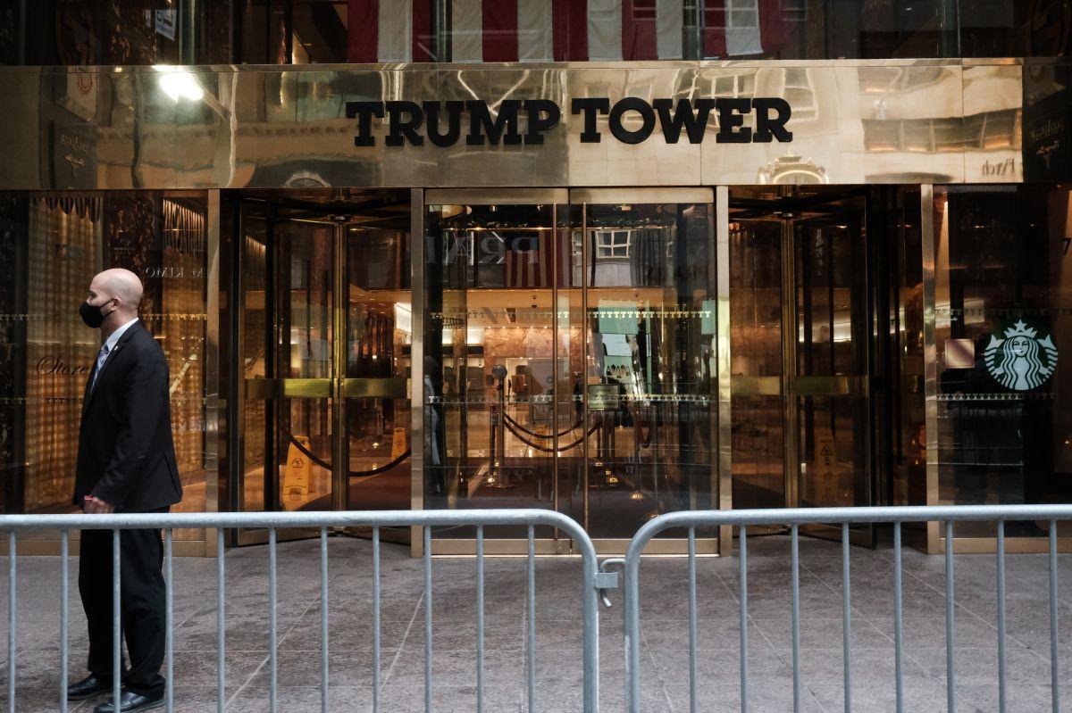 Retiran última barricada en la Torre Trump de Nueva York