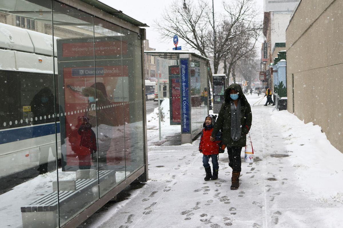 NWS: es posible que la nieve regrese para el lunes en Nueva York