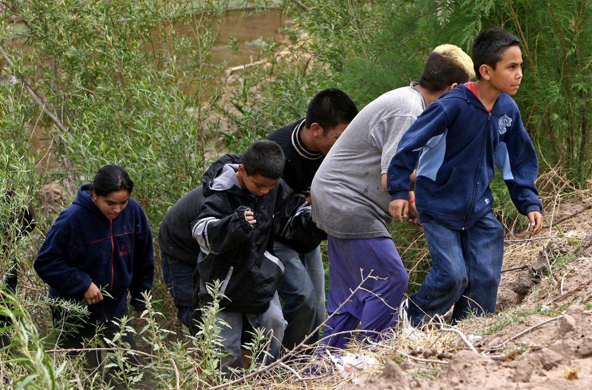 Miles de inmigrantes ilegales cruzan la frontera para ingresar a Estados Unidos todos los días en busca de mejores oportunidades