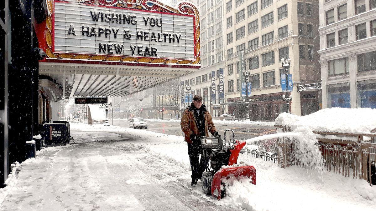 Después de más nieve el domingo se espera una olar de calor en Chicago