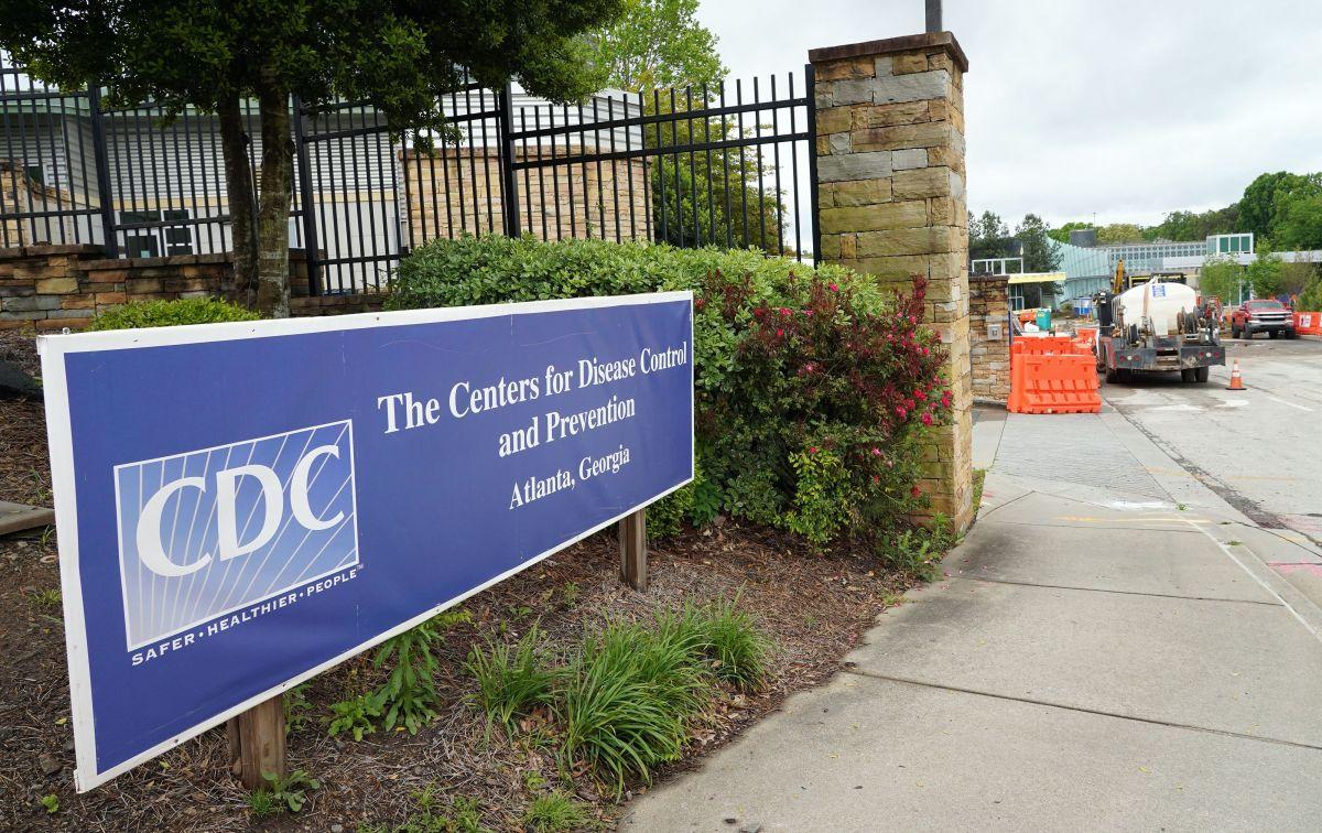 Entrada de los Centros para el Control y la Prevención de Enfermedades en Atlanta, Georgia.