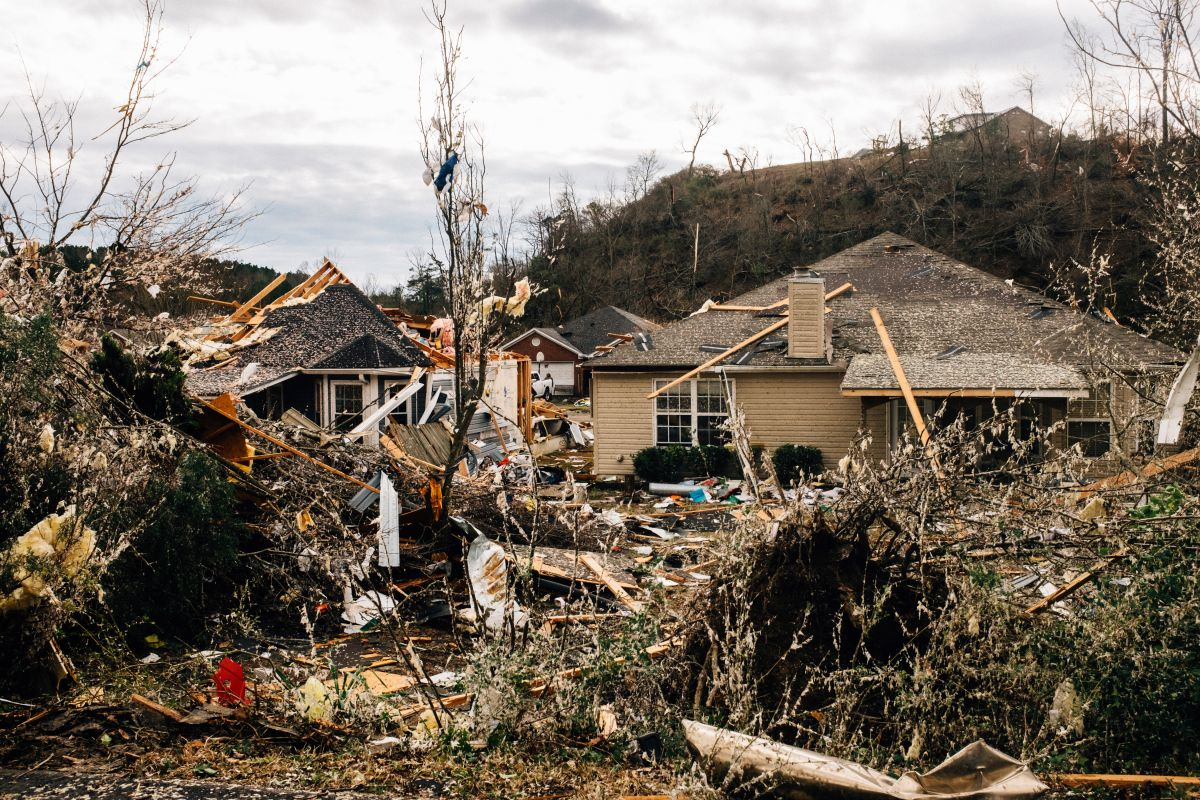 Tornado el 26 de enero de 2021 en Fultondale, Alabama