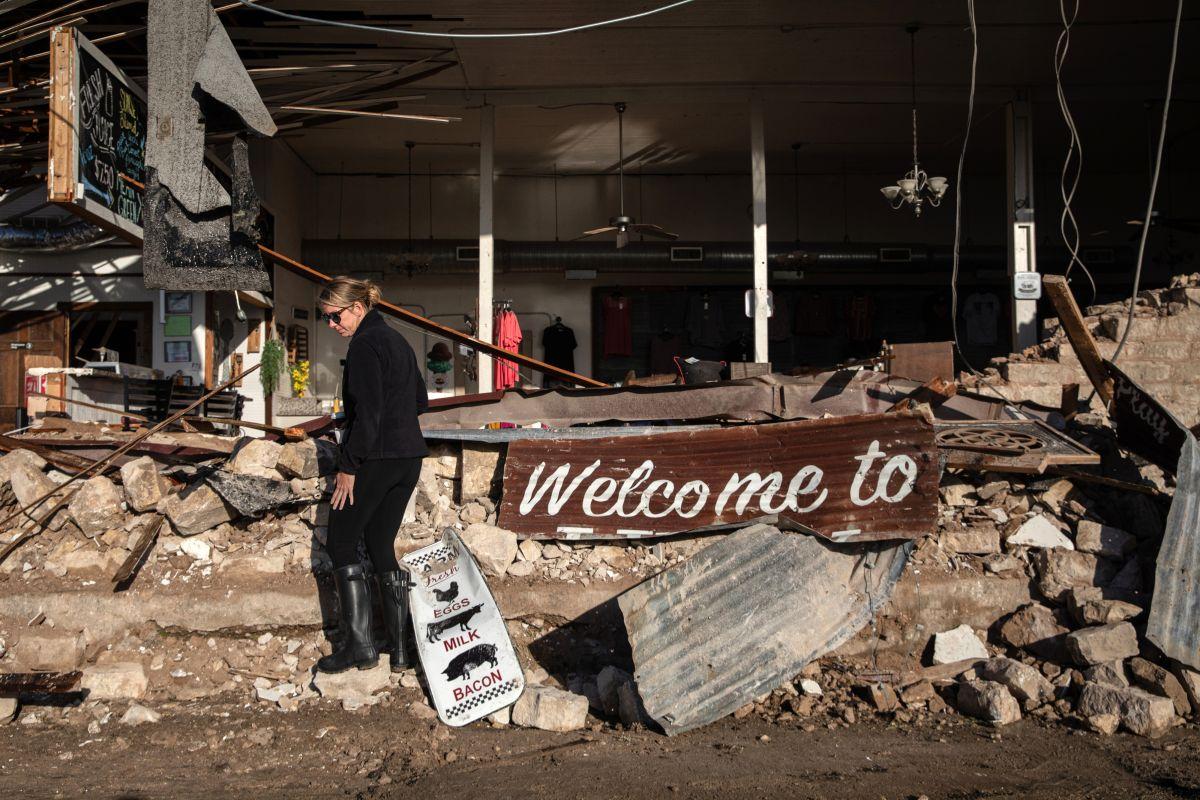 Clima severo con fuertes tornados amenazan en el sur de EE.UU.