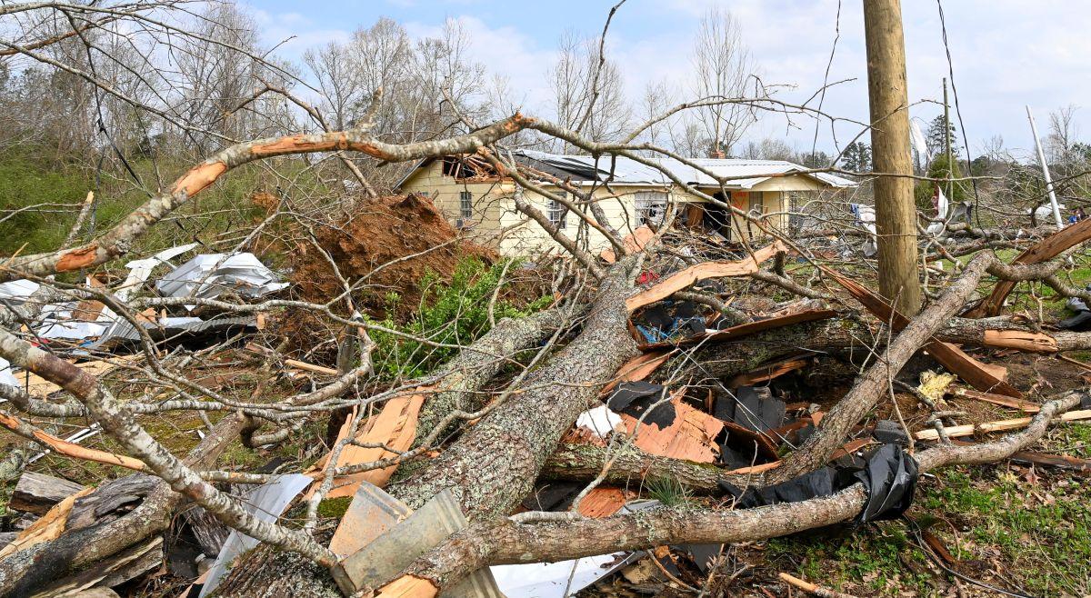 Seis muertos a causa de los tornados y las tormentas al sur de EE.UU.