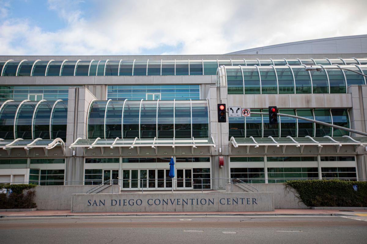 El área alrededor del Centro de Convenciones de San Diego