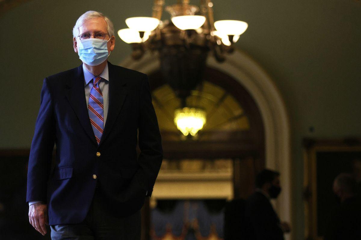 Líder de la minoría del Senado, Senador Mitch McConnell (R-KY)