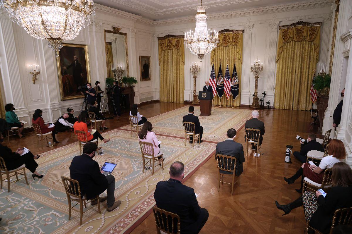 Biden: no voy a permitir que los niños en la frontera se mueran de hambre