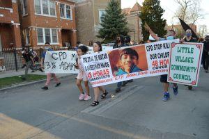 Reacciones de la comunidad de Chicago al video de la muerte de Adam Toledo a manos de un policía
