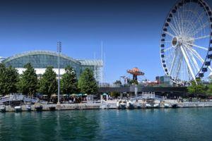 Habitantes de Chicago se preparan para la reapertura gradual del Navy Pier de Chicago