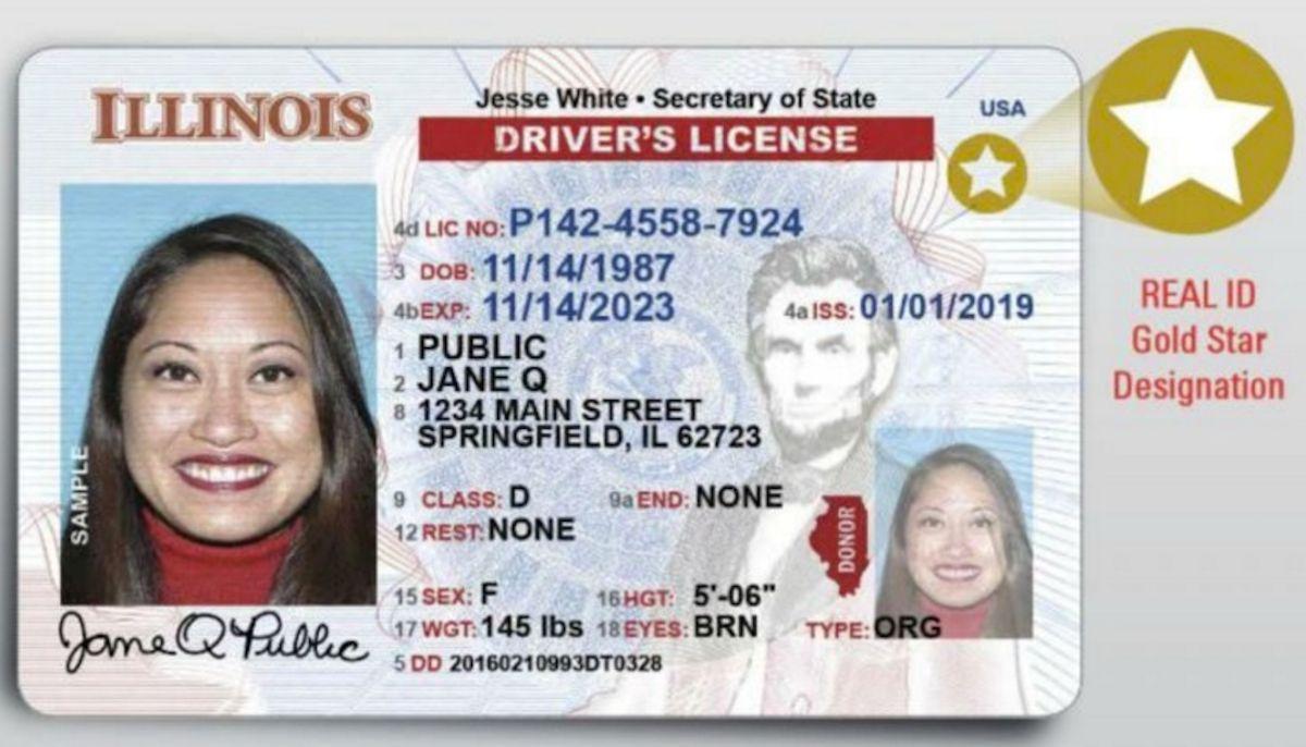 Amplían fecha límite para obtener el Real ID en Illinois