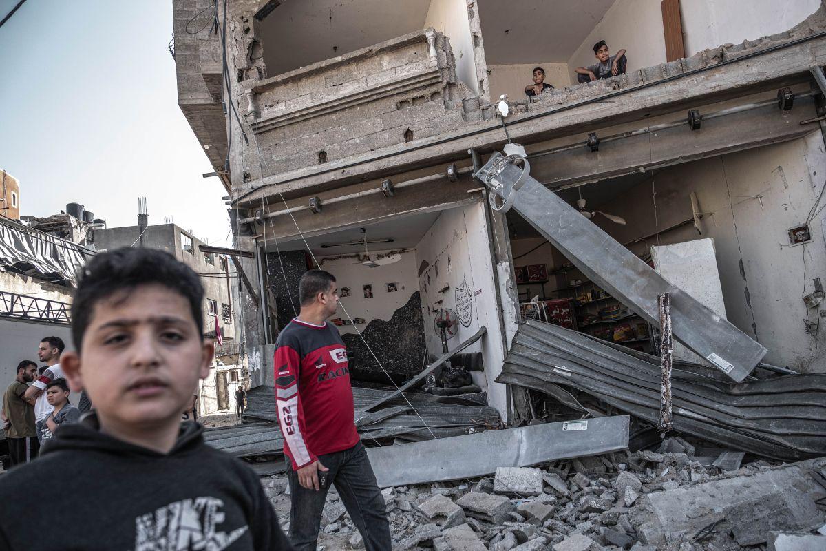 Las víctimas civiles aumentaban a medida que la violencia entre Israel y Gaza se prolongaba.