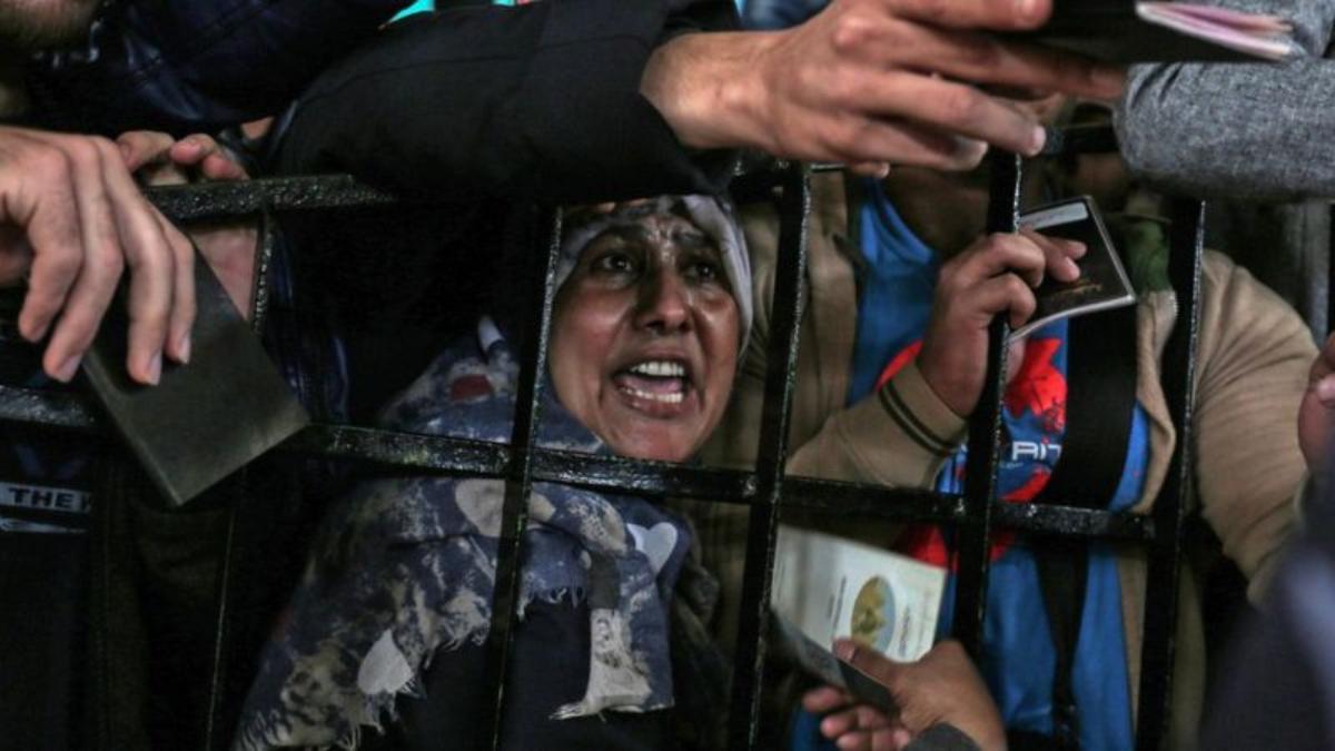 Egipto ha mantenido su frontera con Gaza cerrada la mayor parte del tiempo desde 2007.