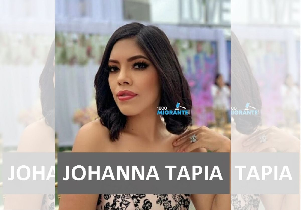 Johanna Tapia es originaria de Guayaquil.